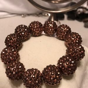 NWT Kenneth Jay Lane Bronze Bracelet